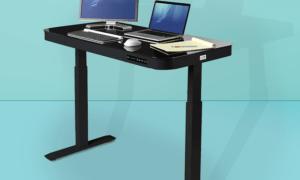 adjustable desk for home office